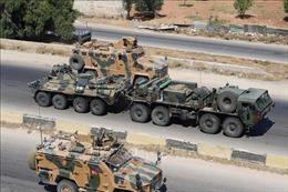 Xe bọc thép của Nga bị tấn công khi đang tuần tra chung ở Syria