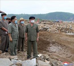 Tân Thủ tướng Triều Tiên thị sát vùng thiên tai