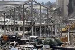 Lại xảy ra hỏa hoạn tại khu vực cảng Beirut, 1 tháng sau vụ nổ kinh hoàng