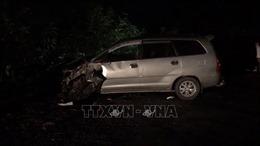 Ô tô va chạm 4 xe máy tại Hải Dương làm 9 người bị thương