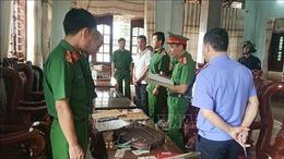 Bắt giam đối tượng bán gỗ lậu cho Doanh nghiệp tư nhân Hùng Ny