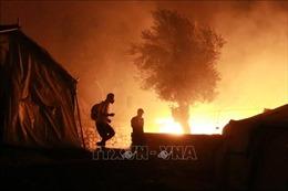 Hỏa hoạn ở trại tị nạn trên đảo Lesbos của Hy Lạp
