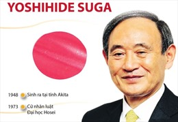 Tân Thủ tướng Nhật Bản Yoshihide Suga