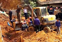 Sập công trình tại Phú Thọ làm nhiều người thương vong