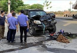 Va chạm giữa ô tô và xe máy tại Nam Định làm 2 người tử vong