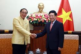 Phó Thủ tướng, Bộ trưởng Ngoại giao Phạm Bình Minh tiếp Đại sứ Vương quốc Thái Lan
