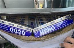 Khởi tố, bắt tạm giam 2 đối tượng buôn bán thuốc lá điếu nhập lậu