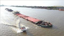Kiểm tra hoạt động giao thông đường thủy nội địa trước mùa mưa bão