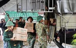 Phân bổ hàng hóa, kịp thời hỗ trợ nhân dân khắc phục hậu quả lũ lụt