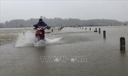 Học sinh ở 7 huyện, thành phố của Hà Tĩnh nghỉ học từ 19/10 do mưa lũ
