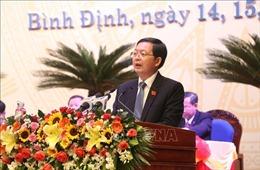 Đồng chí Hồ Quốc Dũng được bầu làm Bí thư Tỉnh ủy Bình Định