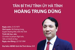 Đồng chí Hoàng Trung Dũng được bầu giữ chức Bí thư Tỉnh ủy Hà Tĩnh khóa XIX