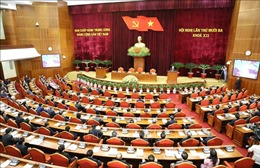 Đảng ủy Khối các cơ quan Trung ương thông báo nhanh kết quả Hội nghị Trung ương 13