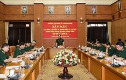 Gặp mặt các Ủy viên Quân ủy Trung ương và đại biểu Quân đội dự Hội nghị Trung ương 13