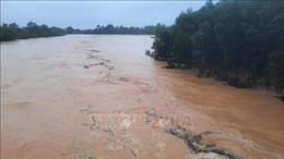 Huyện Hương Khê (Hà Tĩnh) cho học sinh nghỉ học do mưa lũ