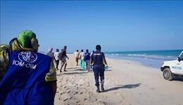 Hàng chục người di cư thiệt mạng và mất tích ngoài khơi Djibouti