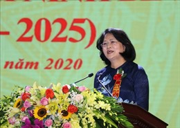 Phó Chủ tịch nước: Ninh Bình cần trở thành tỉnh có động lực tăng trưởng mạnh của Bắc Bộ và cả nước