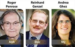 Ba nhà khoa học giành Giải Nobel Vật lý 2020