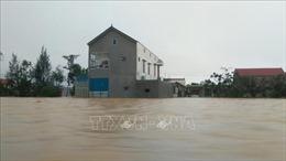 Lũ trên các sông tại Hà Tĩnh đang lên chậm, lũ tại Quảng Bình đạt đỉnh và đang xuống
