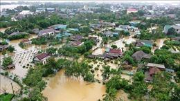 Tình hình mưa lũ ngày 17/10: Quảng Trị đối diện với lũ lịch sử