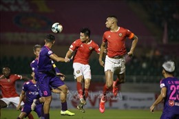 Đánh bại Hồng Lĩnh Hà Tĩnh, Sài Gòn FC tiếp tục duy trì ngôi đầu bảng
