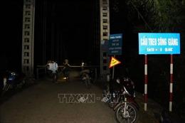 Điều tra làm rõ nguyên nhân vụ tai nạn đặc biệt nghiêm trọng tại cầu sông Giăng
