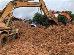 Sạt lở đất ở Hướng Hóa - Quảng Trị: Tìm thấy thi thể của 12 chiến sỹ