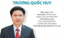 Phó Bí thư Tỉnh ủy, Chủ tịch UBND tỉnh Hà Nam Trương Quốc Huy