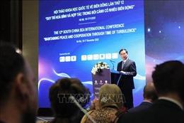 Tạo chuyển biến thực chất, đóng góp cho hòa bình, hợp tác ở Biển Đông