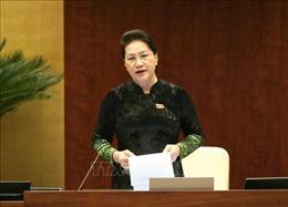 Thông cáo báo chí số 11, Kỳ họp thứ 10, Quốc hội khóa XIV