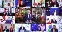 Chủ tịch G20 năm 2021 xác định 3 trụ cột xây dựng tương lai bền vững