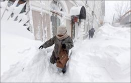 Mưa băng bất thường ở vùng Viễn Đông của Nga