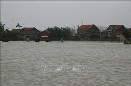 Lũ trên các sông ở Phú Yên đang lên rất nhanh