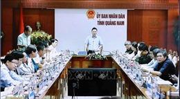 Quảng Nam hoàn thành các phương án ứng phó bão trước 12 giờ ngày 14/11