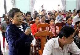 Cử tri Quảng Nam đề nghị giãn nợ, xóa nợ cho các hộ dân bị ảnh hưởng bởi bão lũ
