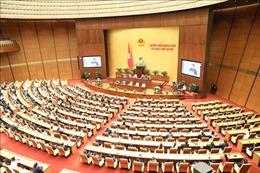 Thông cáo báo chí số 18, Kỳ họp thứ 10, Quốc hội khóa XIV