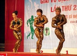 TP Hồ Chí Minh giành ngôi Nhất toàn đoàn Giải Vô địch Thể hình quốc gia lần thứ 23
