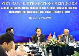 Nâng cao năng lực ứng phó rủi ro thiên tai liên quan đến biến đổi khí hậu