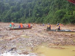 Mở rộng phạm vi tìm kiếm các nạn nhân còn lại tại Trà Leng