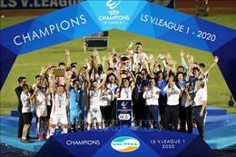 Viettel lần đầu vô địch Giải bóng đá vô địch Quốc gia