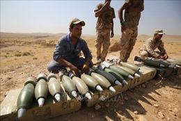 Phát hiện kho vũ khí của IS ở phía Bắc thủ đô Baghdad