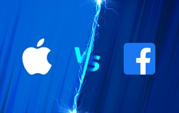 Cuộc chiến về bảo mật dữ liệu ngày một 'nóng' giữa Facebook và Apple