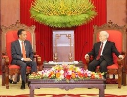 Thư chúc mừng nhân kỷ niệm 65 năm Ngày thiết lập quan hệ ngoại giao Việt Nam – Indonesia