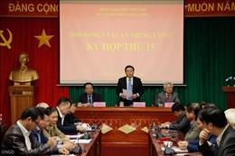 Kỳ họp thứ 15 của Hội đồng Lý luận Trung ương