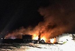 Liban: Nổ kho khí đốt gần biên giới với Syria