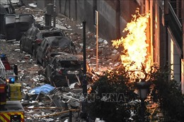 Nổ lớn ở Madrid khiến một tòa nhà bị sập, ít nhất 2 người thiệt mạng