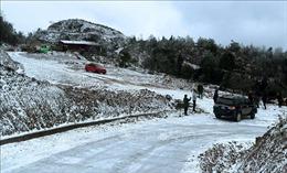 Cảnh báo băng giá, mưa tuyết ở vùng núi cao phía Bắc 1-2 ngày tới