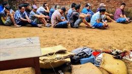 Triệt phá tụ điểm đá gà ăn tiền, thu giữ hơn 800 triệu đồng