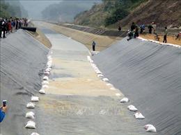 Thông dòng chảy sau sự cố vỡ kênh Bắc sông Chu - Nam sông Mã