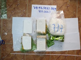 Truy tố hai đối tượng vận chuyển 6 bánh heroin và gần 1 kg ma túy đá qua biên giới
